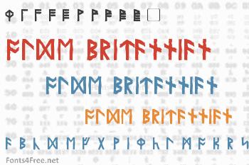 Olde Britannian Font