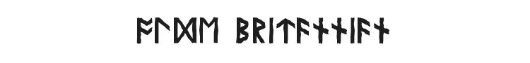 Olde Britannian Font Preview