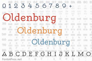 Oldenburg Font