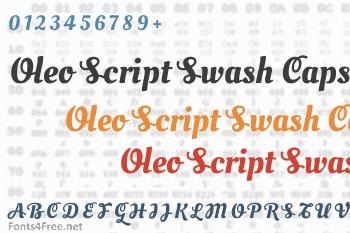 Oleo Script Swash Caps Font