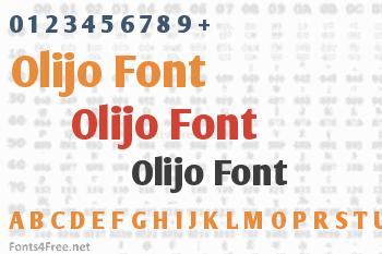 Olijo Font