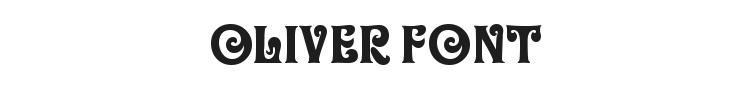 Oliver Font Preview