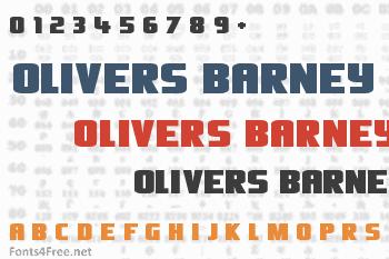 Olivers Barney Font