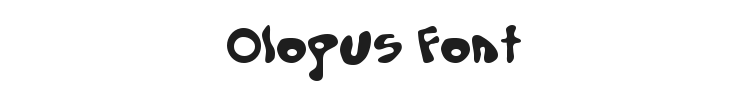Olopus Font Preview