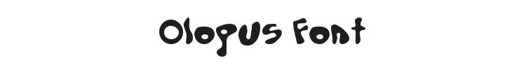 Olopus Font