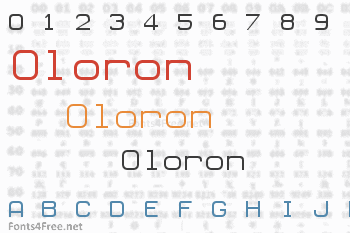 Oloron Font
