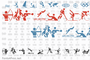 Olympicons Font