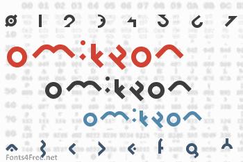 Omikron Font