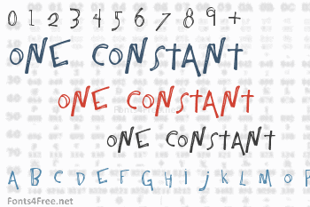 One Constant Font