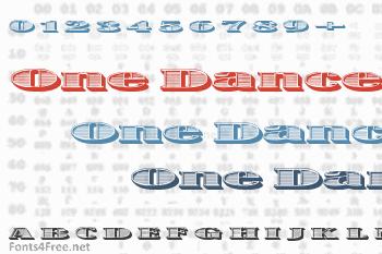 One Dance Font