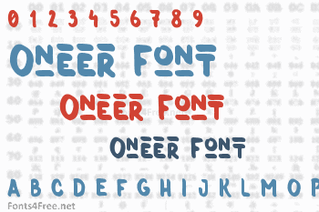 Oneer Font