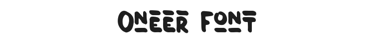Oneer Font Preview