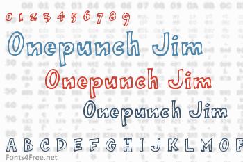 Onepunch Jim Font