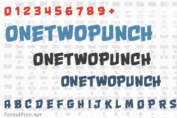 OneTwoPunch Font