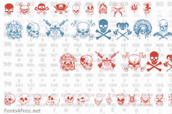 Only Skulls Font