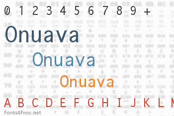 Onuava Font