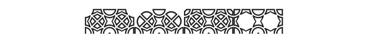 Opattfram01 Font Preview
