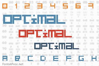 Optimal Font