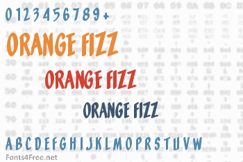Orange Fizz Font