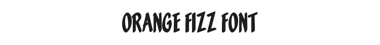 Orange Fizz Font Preview