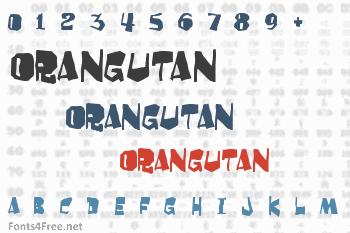 Orangutan Font