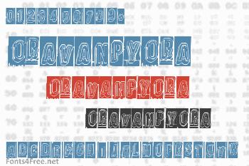 Oravanpyora Font
