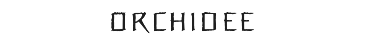 Orchidee Font Preview