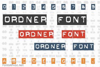 Ordner Font