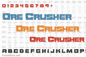 Ore Crusher Font