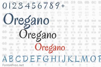 Oregano Font