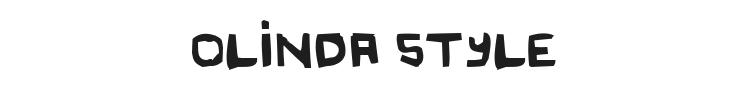 Original Olinda Style Font Preview