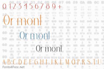 Ormont Font