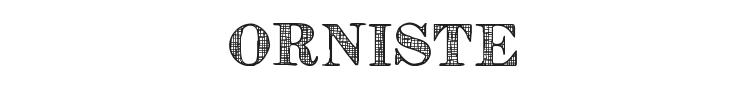 Orniste Font