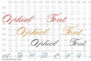 Orphiel Font