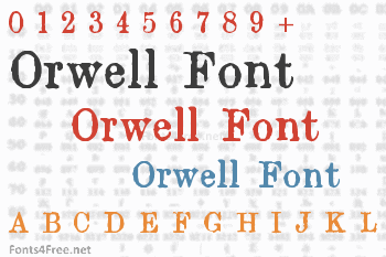 Orwell Font