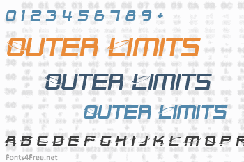 Outer Limits Font
