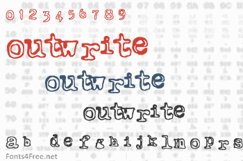 Outwrite Font