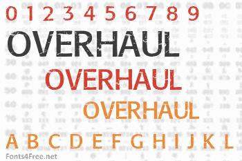 Overhaul Font