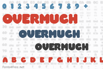 Overmuch Font