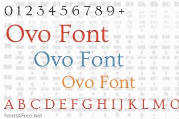 Ovo Font