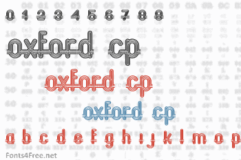 Oxford CP Font