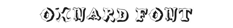 Oxnard Font Preview
