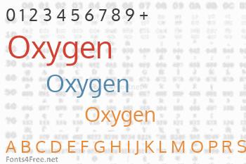 Oxygen Font