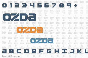 Ozda Font