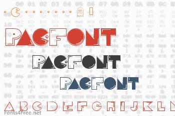 Pac-Font Font