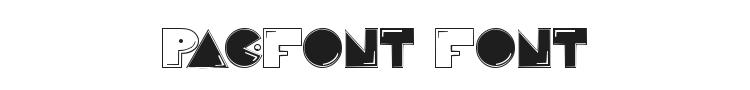 Pac-Font