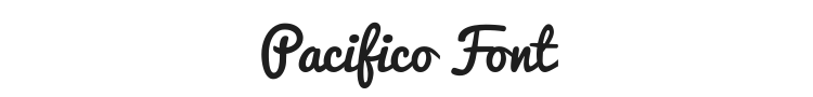 Pacifico Font Preview