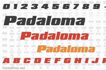 Padaloma Font