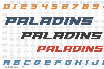 Paladins Font
