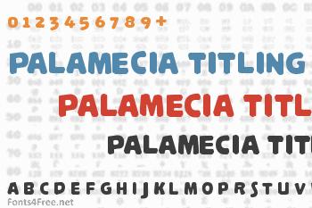 Palamecia Titling Font
